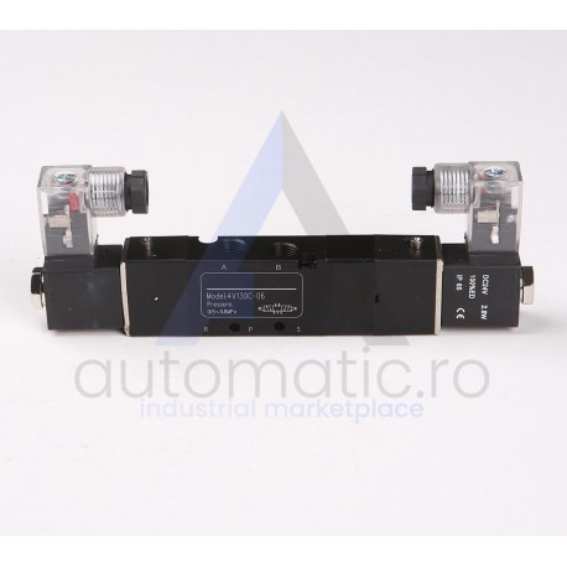 Electrovalva 5 cai 3 pozitii 4V130 G1/8