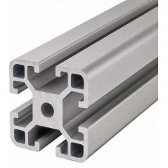 Profil de aluminiu 40x40 mm, canal 8 tip ITEM