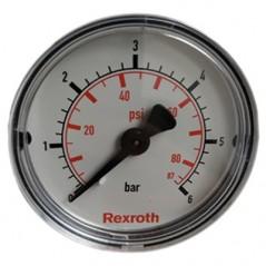 Manometru 50 mm 6 BAR Rexroth