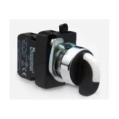 Buton selector 2 pozitii CM100S20 cu retinere