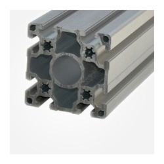 Profil de aluminiu 90x90 mm, canal 10